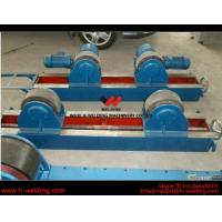 Best Conventional 10 Ton Tank Welding Rotators for Boiler Industry , PU Roller Turning Rolls wholesale