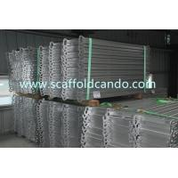 Best High quality Europe market need scaffolding galvanized steel plank board with hooks catwalk for Ringlock scaffolding wholesale