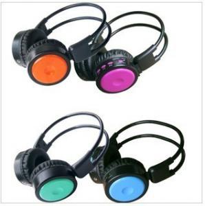 Over Head Remote Control Sport Wireless Headphones / Cellphone Earphone Insert SD Card