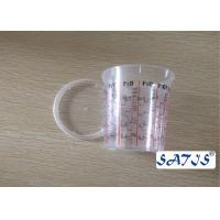 Cheap Disposable Mixing Painting Bottle Auto 400ml Nylon cup Logo customize print on for sale