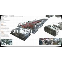 Best WPC Profile Extruder Production Line / Wood Plastic Double Screw Extruder wholesale