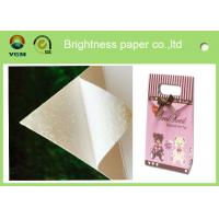 Best White Bristol Art Cardboard Sheets Two Sides Coated For Wrapping Packaging wholesale