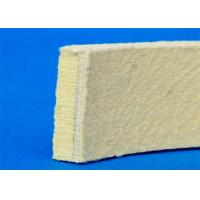 Best Needling Kevlar Industrial Felt Pads Heat Resistant Yellow Color For Cooling Table wholesale