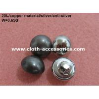 Best Round Pearl Shank Custom Clothing Buttons Copper Color With Polished wholesale