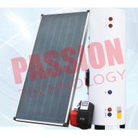 Best Natural Circulation Split Solar Water Heater Flat Plate Copper Connection wholesale