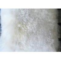 Cheap Plush Lambswool Rocking Chair Cushions 40*40cm , Soft Sheepskin Pads For Wheelchairs  for sale