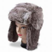 Best Youth's Fake Fur Winter Hat with Earflap, Available in Various Colors wholesale