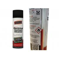 Buy cheap Fast Drying Electrical Contact Cleaner For Dissolves Industrial Grease / Grime from wholesalers