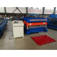 Best Material Width 1220 mm Rib 40 MM  Glazed Tile Roll Forming Machine Use PPGI And GI wholesale