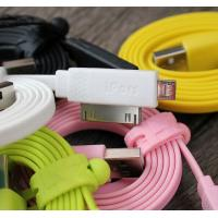 China 2 In 1 IPORS Flat Micro USB Cable / USB Micro To USB Micro Cable on sale