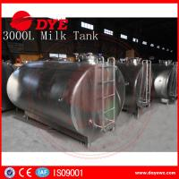 Best 5,000 Litre Horizontal Milk Cooling Tank Mueller Milk Tank Copper wholesale