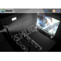 Best Interactive 5D Projector Cinema Simulation 5D Theater System 5D Cinema Movie For Amusement wholesale
