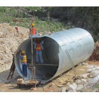 Buy cheap Assembly Galvanized Corrugated Culvert Pipe from wholesalers