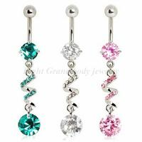 Best New 2014 Allergic Dangle Belly Rings Body Piercings Jewelry For Anniversary wholesale