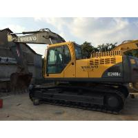 Best Long Reach Used Volvo Excavator EC240BLC 19.8ft Digging Depth With 6 Cylinders wholesale