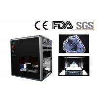 Best Small Air Cooling Gift Engraving Machine for Glass and Crystal CE / FDA Certificated wholesale