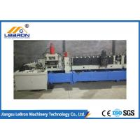 Best High Durability Cable Tray Roll Forming Machine 0.8-1.5mm Material Thickness wholesale