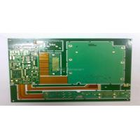 Buy cheap 1.6mm FR4 & PI 10 Layer Rigid Flexible HDI PCB Design Circuit Boards Layout from wholesalers