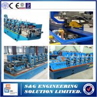 Best High Frequency Stainless Steel Welded Pipe Machine GH45 Straight Seam wholesale