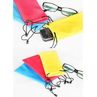 Best 600D Nylon Microfiber Sunglass Pouch , Children's Soft Case For Glasses wholesale