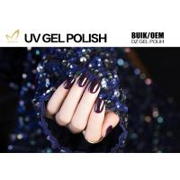 Best Glitter Powder Sparkle Gel Nail Polish , Platinum Glitter Led Gel Nail Polish No Fade wholesale