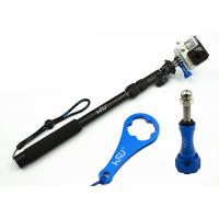 Best Gopro Handheld Camera Holder Stick All-Aluminum Alloy Telescopic Pole , Extendable Arm For Selfies wholesale