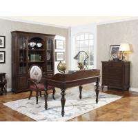 Best Home Office Study room furniture Wooden Reading Writing desk Computer table with Storage cabinet and Bookshelf cabinet wholesale