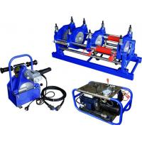 Best Φ 160mm To Φ 315mm HDPE Pipe Butt Fusion Welding Machine Manually 220V Low Noise wholesale