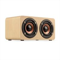 Wooden Wireless Bluetooth Speaker Portable HiFi Shock Bass Soundbar