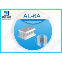 Quality Alloy Parallel Pipe Fitting Aluminum Tubing Joints For Working table , Surface Oxidation AL-6A wholesale