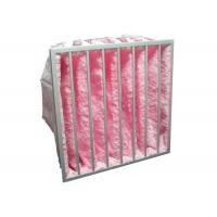Best HVAC System Glass Fiber Multi - Pocket Air Filter F6 - F8 Efficiency For Greenhouse wholesale