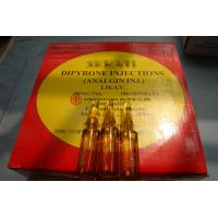 Quality GMP Certified Best Quality Dipyrone/Analgin/Metamizole sodium Injection, 500mg/5ml, ink/ceramic print, 100ampoules/box wholesale