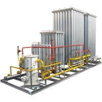 Cheap Automatic Mobile LNG Filling Skid Mounted Equipment 1.6mpa for sale