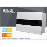 China High quality ABS material 16 mounted units electrical distribution box design flexibly surface mounted distribution box on sale