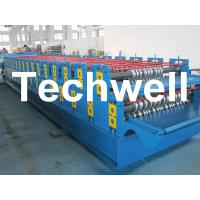 Best 0 - 15m/min Forming Speed Double Layer Forming Machine For Roof Wall Panels wholesale
