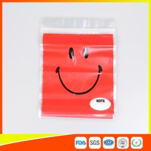 Best OEM Custom Printed Ziplock Bags Plastic Grip Seal Poly Bag With Heat Seal wholesale