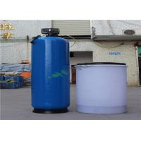 China Blue FRP RO Plant Reverse Osmosis Water Softener Ion Exchange System on sale