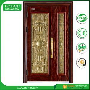 Best CE Luxury Steel Door Security Door Exterior Door Iron Door Metal Door Popular for Overseas Market wholesale