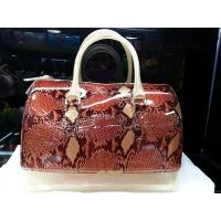 China Stylish Leisure Jelly Candy Handbag / Silicone Leather Printing PVC Bags on sale