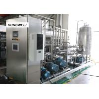 Best Efficient Energy Saving Carbonated Filling Machine Mounted With  Stainless Steel Control Cabinet wholesale