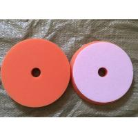Best Sponge Foam Wool Buffing Pad , Automotive Buffing Pads With Center Hole wholesale