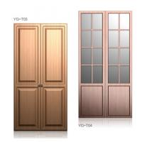 Classic Soft Close Hinges Wardrobe Hinged Doors , Bedroom Closets And Wardrobes