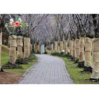 Best Heavy Duty Burlap Tree Wrap Brown Landscape supply type Gardening tree protector wholesale