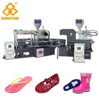 Best Rotary Two Color PVC Jelly Sandal Injection Molding Machine 4.3*3.3*2.9m / 2 Years Gurantee wholesale