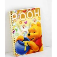Best OK3D Manufacture High Quality Customized 3d lenticular notebook cover printing service with pp pet book cover wholesale