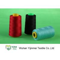 Best Dyed 100 Spun Polyester Sewing Thread With Plastic / Paper Cone Wear Comfortable wholesale