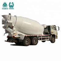 Best Compact Biggest Concrete Mixer Truck With Heavy Reduction Drive Axle wholesale