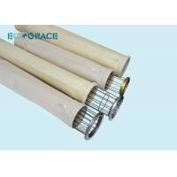 Buy cheap D150 X L3600mm Dust Collector Replacement Bags / Nomex Needle Felt Filter Bags 500 Gsm from wholesalers