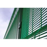 Best Green Powder Coating 358 Triangle Bending Security Wire Mesh Fence wholesale
