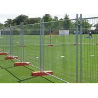 Best Theft Deterrence Temporary Safety Fence With Durable Q195 Iron Wire Material wholesale